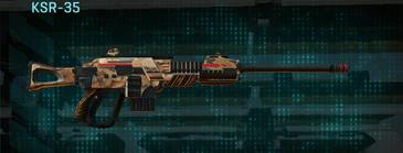 Indar canyons v1 sniper rifle ksr-35