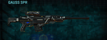 Indar dry brush sniper rifle gauss spr