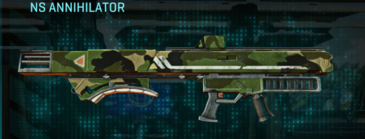 Jungle forest rocket launcher ns annihilator