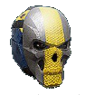 NC Light Helm BandedSkull