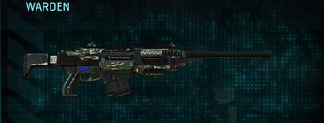 Scrub forest battle rifle warden