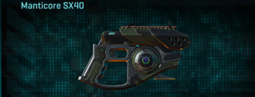 Amerish scrub pistol manticore sx40