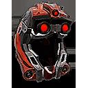 Retracted Predator Helmet
