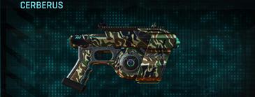 Scrub forest pistol cerberus