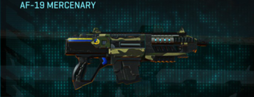 Temperate forest carbine af-19 mercenary