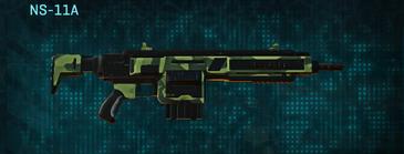 Amerish forest assault rifle ns-11a