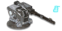 Deployed Spear Phalanx Turret