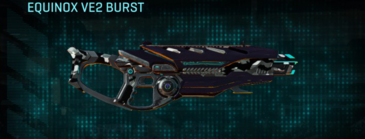 Indar dry brush assault rifle equinox ve2 burst
