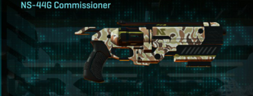 Arid forest pistol ns-44g commissioner
