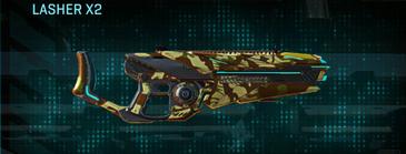 India scrub heavy gun lasher x2