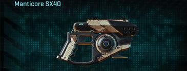 Desert scrub v2 pistol manticore sx40