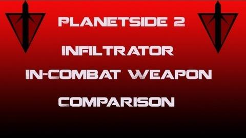 TR Infiltrator Weapons In-Combat Comparison - Planetside 2
