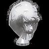 Chrome Lion Head Hood Ornament