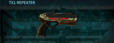 India scrub pistol tx1 repeater