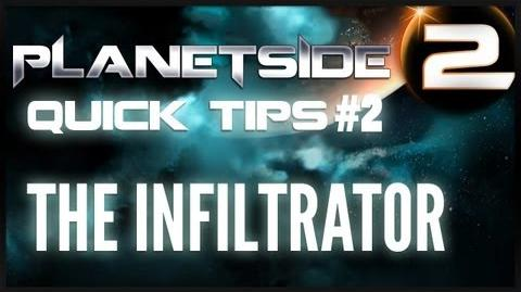 Planetside 2 - Quick Tips 2 The Infiltrator