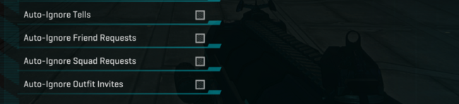 Request Filters UI