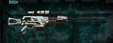 Esamir snow sniper rifle 99sv