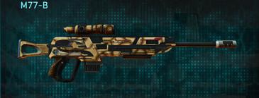 Giraffe sniper rifle m77-b