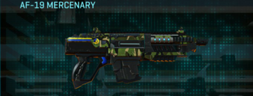 Jungle forest carbine af-19 mercenary