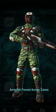 Tr amerish forest combat medic