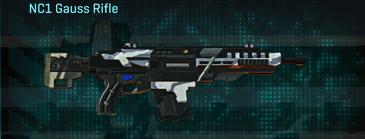 Esamir ice assault rifle nc1 gauss rifle