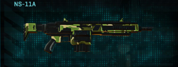Jungle forest assault rifle ns-11a