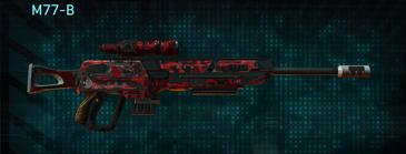 Tr alpha squad sniper rifle m77-b