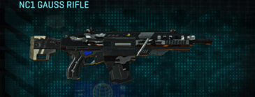 Indar dry brush assault rifle nc1 gauss rifle