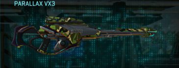 Jungle forest sniper rifle parallax vx3