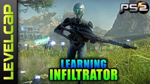 Introduction To Infiltrator Class (Planetside 2 Gameplay Commentary)
