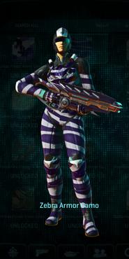 Vs zebra combat medic