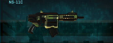 Temperate forest carbine ns-11c