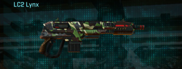 African forest carbine lc2 lynx