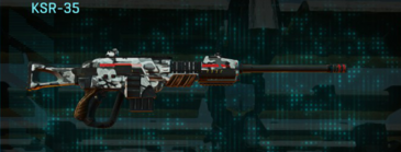 Forest greyscale sniper rifle ksr-35