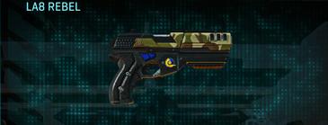India scrub pistol la8 rebel