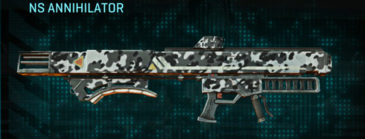 Snow aspen forest rocket launcher ns annihilator