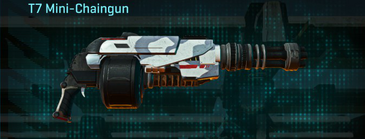 Esamir ice heavy gun t7 mini-chaingun