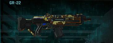India scrub assault rifle gr-22