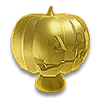 Jack O Lantern Hood Ornament