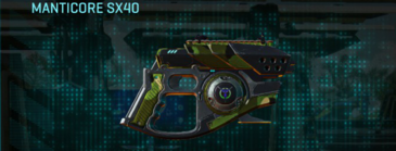 Jungle forest pistol manticore sx40