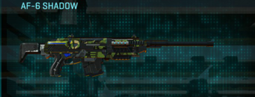 Jungle forest scout rifle af-6 shadow