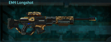 Giraffe sniper rifle em4 longshot