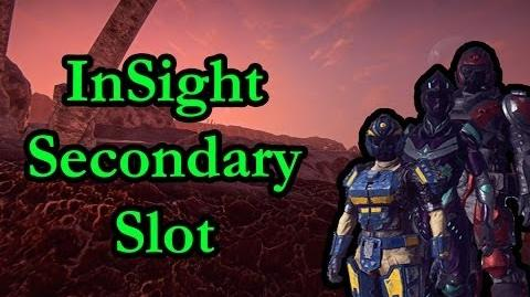 InSight on Secondary Slot