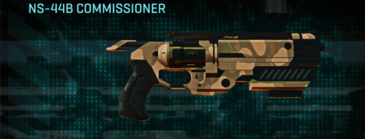 Indar plateau pistol ns-44b commissioner