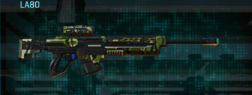 Jungle forest sniper rifle la80