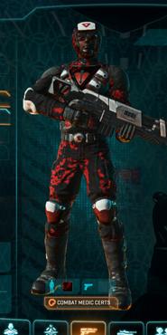 Tr loyal soldier camo combat medic