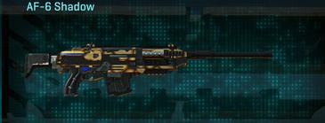 Giraffe scout rifle af-6 shadow