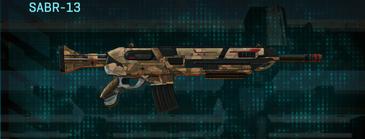 Indar plateau assault rifle sabr-13