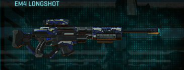 Nc patriot sniper rifle em4 longshot