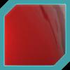 Red Metallic Glass Decal